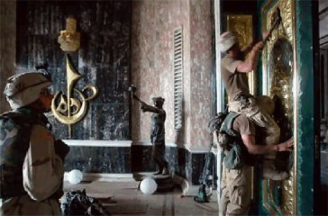 US Troops Looting Iraq National Museum