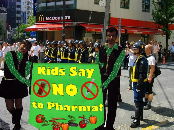 kids say no to pharma