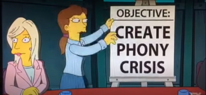 """The Simpsons' Clip About a """"Cat Flu"""" Was Incredibly Prophetic"""